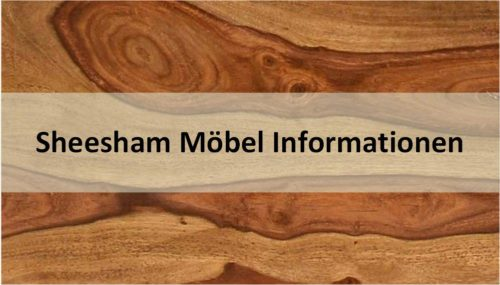 Sheesham Möbel Informationen